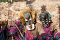 Rabbit mask and the Dogon dance, Mali. Stock Photos