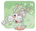 Rabbit In Panic