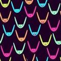 Rabbit Seamless Pattern-08