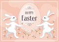 Rabbits and Easter egg