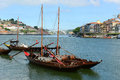 Rabelo Boat, Porto, Portugal Royalty Free Stock Photo