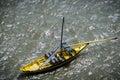 Rabelo Boat in Porto, Portugal Royalty Free Stock Photo
