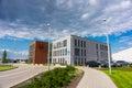 Raben polska office the new at the company area of gadki poland Royalty Free Stock Photography