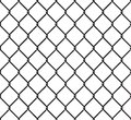 Rabitz seamless pattern. Mesh netting ornament. Mesh fence background Royalty Free Stock Photo