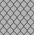 Rabitz seamless pattern. Mesh netting ornament. Mesh fence backg Royalty Free Stock Photo