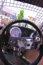 Race car interior Stock Image