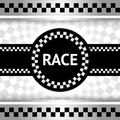 Race new backdrop Royalty Free Stock Photography