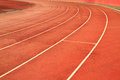 Race track curve Royalty Free Stock Photo