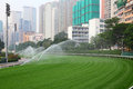 Racecourse in hong kong happy valley china Royalty Free Stock Photos