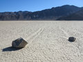 Racetrack Playa Rocks Royalty Free Stock Photo