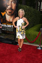 Rachael harris arriving at the soloist premiere at paramount studios in los angeles california on april Stock Photography