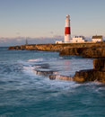 Rachunku Dorset latarnia morska Portland uk Zdjęcia Stock