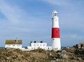 Rachunku Dorset latarnia morska Portland uk Fotografia Stock