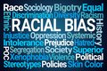 Racial Bias Word Cloud