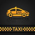Racing background template, taxi cab backdrop Stock Photography