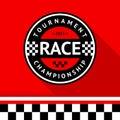 Racing badge 14