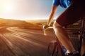 Racing Bike Royalty Free Stock Photo