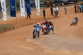 Racing bike in diyathalawa fox hill super cross event in srilanka april Royalty Free Stock Image