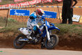 Racing bike in diyathalawa fox hill super cross event in srilanka april Royalty Free Stock Photos