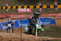 Racing bike in diyathalawa fox hill super cross event in srilanka april Stock Images