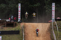 Racing bikes in diyathalawa fox hill super cross event in srilanka april Royalty Free Stock Photo