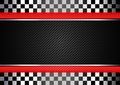 Racing black striped background Royalty Free Stock Image
