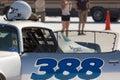 The racing car during the world of speed bonneville salt flats utah september Stock Photo
