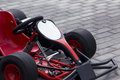 The racing cart Royalty Free Stock Photo