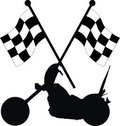 Racing flags Royalty Free Stock Photo