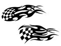 Racing tattoos Stock Images