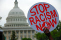 Racism Protest at Capitol Royalty Free Stock Photo
