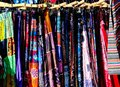 Rack of Colorful Dresses