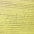 racked wooden plank, yellow color Royalty Free Stock Photo