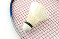 Racketbadminton Royaltyfria Bilder
