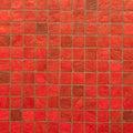 Rad vintage mosaic wall texture Royalty Free Stock Photo