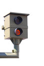 Radar control flash speed camera speed cameras Stock Images