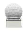 Radar Dome Station Royalty Free Stock Photo