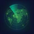 Radar earth