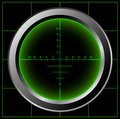 Radar screen Royalty Free Stock Image