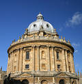Radcliffe camera building Royalty Free Stock Photo