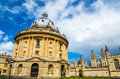 Radcliffe Camera, the library of Oxford Univesity Royalty Free Stock Photo