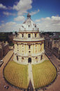radcliffe camera, university of oxford Royalty Free Stock Photo