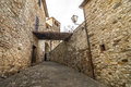 Radda in chianti siena tuscany italy medieval town the walls Stock Photography