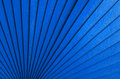 Radial blue abstract background with wooden stripes Stock Image