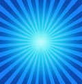Radial blue background Stock Photos
