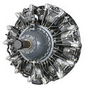 Radial Engine Royalty Free Stock Photo