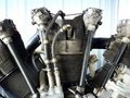 Radial engine Stock Photo