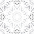 Radial vintage seamless pattern Royalty Free Stock Photography