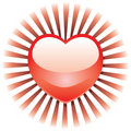 Radiant Heart Royalty Free Stock Photo