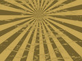 Radiate mottled gold Stock Photo